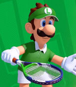 Luigi in Mario Tennis Aces