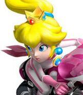 Princess Peach in Mario Kart Wii