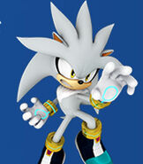 Silver the Hedgehog in Mario and Sonic at the Rio 2016 Olympic Games