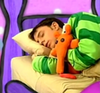 Steve from (Blue's Clues) Sleeping