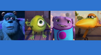 Sulley, Mike, Oh and Ishani