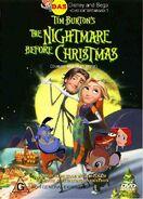 The Nightmare Before Christmas (Disney and Sega Style) Australia DVD Cover