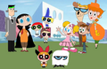 The PPG and DL Families in Halloween