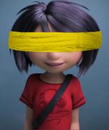 Yi blindfolded