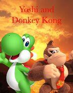 Yoshi and Donkey Kong (Timon and Pumbaa) TV Poster