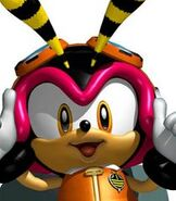 Charmy Bee in Sonic Heroes