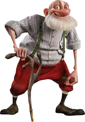 Grandsanta (Arthur Christmas)