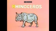 Sesame Street Rhinoceros