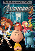 The Avengers (2012) (CharlieBrownandSci-TwiFans Style) Poster
