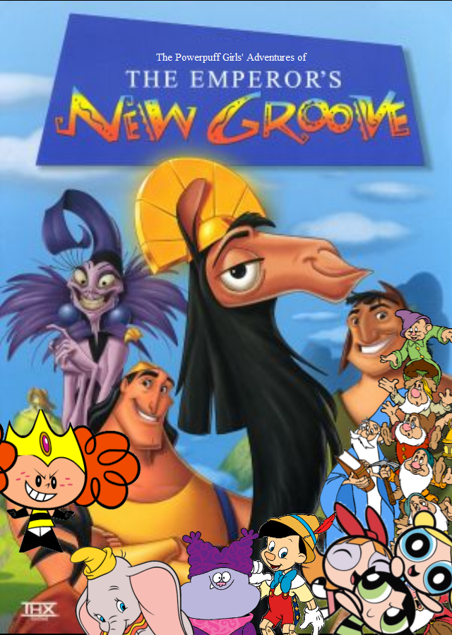 The Powerpuff Girls' Adventures of The Emperor's New Groove