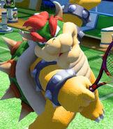 Bowser in Mario Tennis- Ultra Smash