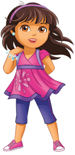 Dora from Dora and friends into the city as Mavis.png