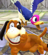 Duck Hunt in Super Smash Bros. for Wii-U and 3DS