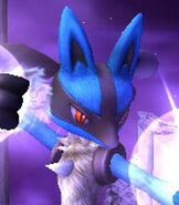Lucario in Super Smash Bros. Brawl
