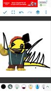 Ogre Doug as Kentrosaurus
