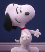 Snoopy in The Peanuts Movie