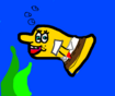 SpongeBob as Blobfish