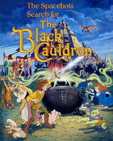 The Spacebots' Search for The Black Cauldron