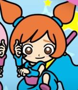 Ana in WarioWare Get It Together!
