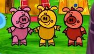 Blue's Clues Pigs