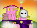 Teagan the Magical Pink Engine