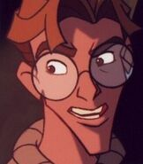 Milo James Thatch in Atlantis the Lost Empire
