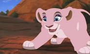 Miss Piggy as a Lion Cub