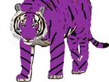 Qure the Vicious Purple Tiger