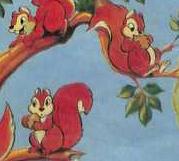 Squirrels snow white disneyland magazine