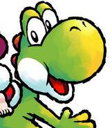 Yoshi in Yoshi's Island DS