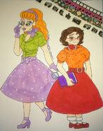 1950s Daphne and Velma