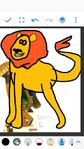 Alex as Simba