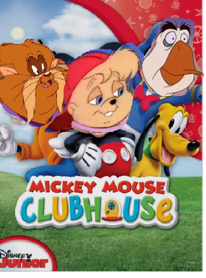 Alvin Chipmunk Clubhouse