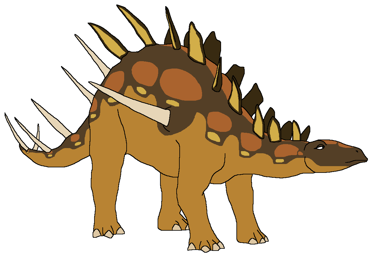 Amber the Kentrosaurus