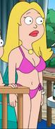 Francine Pink bikini