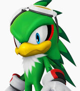Jet the Hawk in Sonic at the Olympic Games