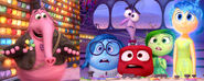Joy, Sadness, Anger, Disgust, Fear and Bing Bong (Inside Out)