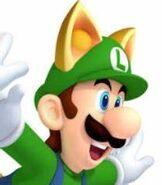 Luigi in New Super Mario Bros. 2
