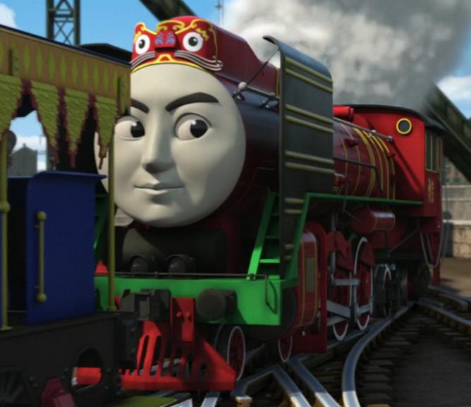 Yong Bao the Chinese Railway Engine