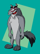 Wolfgang the wolf by bennythebeast-d7cwrno