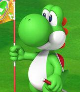 Yoshi in Mario Golf World Tour