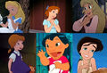 Alice, Wendy, Princess Eilonwy, Penny, Lilo and Melody (My Little Girls - The Movie)