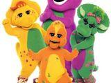 Barney, Baby Bop, BJ and Riff