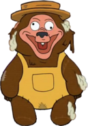 Bear-o appearance