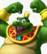 King K. Rool in Super Mario Sluggers