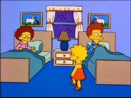 Lisa meets the Flanders.