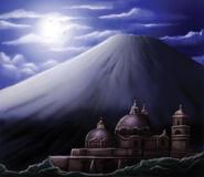 Puebla's volcano