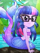 Sci-Twi the Beautiful Mermaid