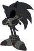 Sonic the Hedgehog as Black Ranger