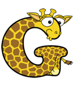 Giraffe (Alphabetimals)